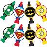 Justice League DC Comic Heroes BLOWOUTS  Birthday Party Favors Treat Loot ~ 8ct