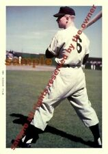 MICKEY MANTLE ROOKIE 1951 WEARING # 6 SUPERB 5x7 KO-DAK LAB PHOTO NY YANKEES