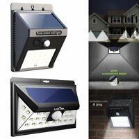 LED Solar Power Motion Sensor Garden Security Lamp Outdoor Waterproof Light 34