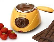 Chocolatiere Chocolate Crisol eléctrico incluso fondut herramientas