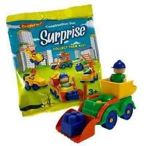 Bauer Construction Set Surprise Blind Bag Vehicle & Figure Party bag filler Toys
