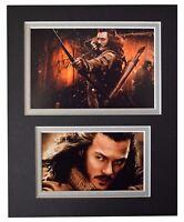 Luke Evans Signed Autograph 10x8 photo display The Hobbit Film AFTAL & COA