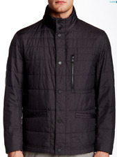 NWT HUGO BOSS Camben Printed Jacket In MED GY Sz 40R  $495  hC