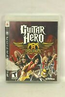 Guitar Hero Aero Smith (Sony PlayStation 3, 2008) PS3 Complete