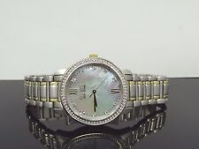 Citizen EM0114-51D Women's Silhouette Mother of Pearl Gold & Silver Tone  Watch