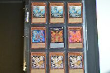 Yugioh Hieratic Dragon 2 Lot Deck Collection 41 Cards 6 Holos & Rares Heliopolis