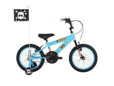 Bicicleta de montaña azul acero