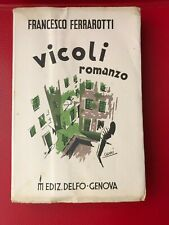 """Ferrarotti Francesco """"Vicoli"""" – Delfo, 1934"""