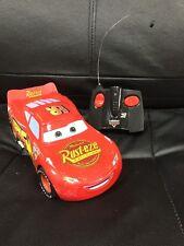 "Disney Pixar Cars Remote Controlled Lightning McQueen (10"")"