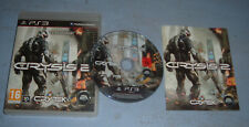 CRYSIS 2 PLAYSTATION 3 PS3 COMPLET (envoi suivi)