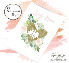 Personalised Be My Bridesmaid Proposal Card Scratch & Reveal Hidden Message