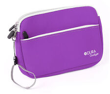 Archos 80 G9, G9 Turbo et 80 XS Tablet Case - Purple Durable Neoprene With Strap