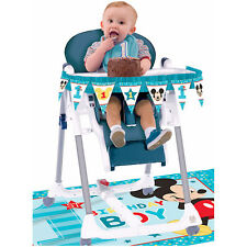 Baby Mickey Fun to be 1 First Birthday High Chair Decorating Kit  Party Supplies