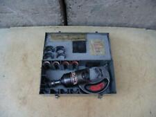 Thomas and Betts Tbm-15P 15 Ton Hydraulic Crimper Uses Burndy Dies Works Fine