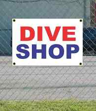 2x3 DIVE SHOP Red White & Blue Banner Sign NEW Discount Size & Price