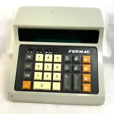 Vintage Retro FORMAC Desk Calculator DT-118 Battery Operated 1970's *AS IS*