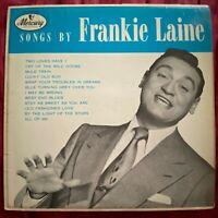 Songs By Frankie Laine~1956 Jazz Vocal Rhythm~Mercury Records MG 20069 MONO LP