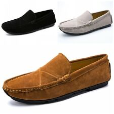 Mens Casual Driving Penny Shoes Leisure Faux Leather Loafers Slip On Moccasins L