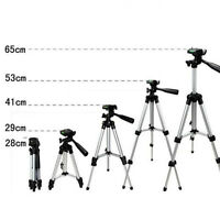 Pro Travel Tilt Pan Head Tripod for Digital Camera Camcorder Video + Nylon Bag
