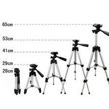 Pro Travel Tilt Pan Head Tripod for Digital Camera Camcorder Video + Nylon Bag