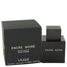 ENCRE NOIRE POUR HOMME 100ML EDT SPRAY BY LALIQUE FOR MEN'S PERFUME NEW LALIQU