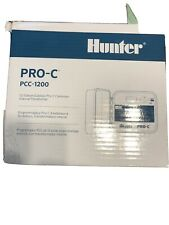 New listing Hunter Pro-C Pcc-1200i Sprinkler Controller 12 Zones. Includes Everything