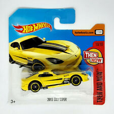 Hot Wheels 2013 SRT Viper Dodge Modellino Auto Automobile Then And Now 10/10