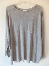 Old Navy Womens Ladies XXL 2X Rayon Poly 3/4 Sleeve Thin Arm Shirt Top Blouse