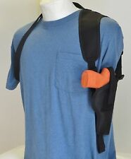 Shoulder Holster for RUGER SR22 Pistol with Underbarrel Laser - Vertical Carry