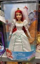 Disney Parks Ariel Wedding Bride 12 inch Doll New