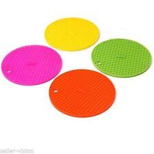 Dessous de verre de table en silicone