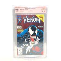 Venom Lethal Protector #1 Signed By Mark Bagley CBCS 9.8 (Not CGC) Red Foil Cvr
