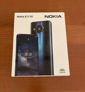 Nokia 8.3 5G TA-1243 128GB Dual Sim GSM Unlocked Android Phone - Polar Night