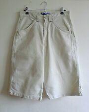 BILLABONG Spec 73 Cream Beige Stone Long Board Skate Surf Cotton Shorts S