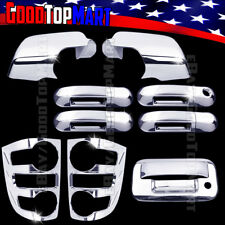 For EXPLORER SPORT TRAC 2007-2009 Chrome Covers Mirror+Door+Tail Lights+Tailgate
