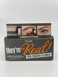 Benefit Cosmetics They're Real! Duo Eye Shadow Blender FOXY FAWN Eyeshadow Nude