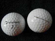 """10 TaylorMade """"Penta TP3"""" - Balles de golf -"""" PEARL/A """"grades."""