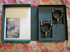 ORIGINAL PERSONAL SPURS OWNED BY FILM DIRECTOR BUDD BOETTICHER