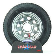 Kenda Loadstar Trailer Tire 5.30 x 12 Hot Dipped Galvanized Wheel 5.30-12 5 Lug