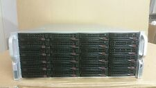 Supermicro SC846 24x SATA Storage Server Adaptec 5405, SAS Expander, 4x 4GB RAM