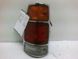 Passenger Right Tail Light Chrome Fits 88-95 ISUZU PUP (PICKUP) 106731