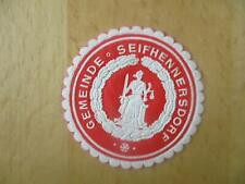 (33001) Siegelmarke - Gemeinde Seifhennersdorf
