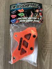 TM Designworks Orange Factory 2 Chain Guide for KTM 08-19 SX F XC F W RCG-KT3-OR
