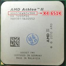AMD Athlon II X4 651K 3 GHz Quad-Core Prozessor Sockel FM1 100W CPU