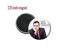 "Last Week Tonight with John Oliver TV Show Host 2.25"" Fridge Magnet"