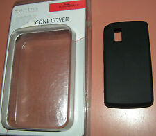 Xentris Black Silicone cover skin for LG VU CU920, New in package