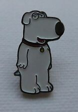 Metal Enamel Pin Badge Brooch Family Guy Brian Dog American Sit Com Character
