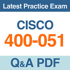 Cisco CCIE Collaboration Practice Test 400-051 Exam Q&A PDF