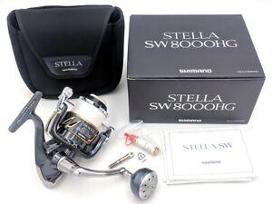 SHIMANO 13 STELLA SW8000HG SPINNING REEL Saltwater Fishing BIG game from japan