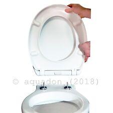 Soft-Close Top-fix Quick Release Toilet Seat